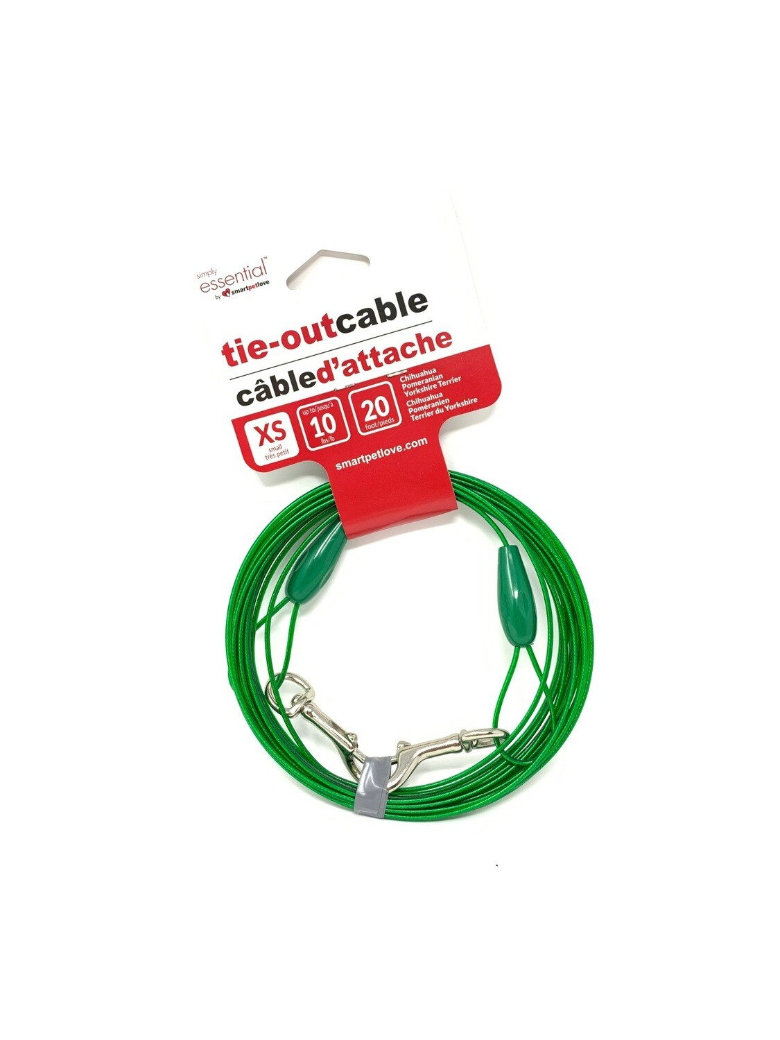 Simply Essential Tie-Out Cable XS