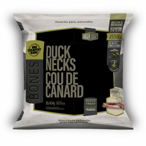 BCR SKINLESS DUCK NECK 1LB