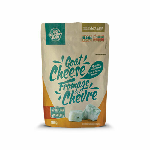 BCR RAW GOAT CHEESE TREATS 100g