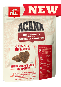 ACANA BISCUITS - BEEF LIVER MEDIUM/LARGE 225g