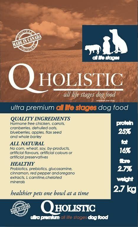 Q-HOLISTIC DOG 13.6KG
