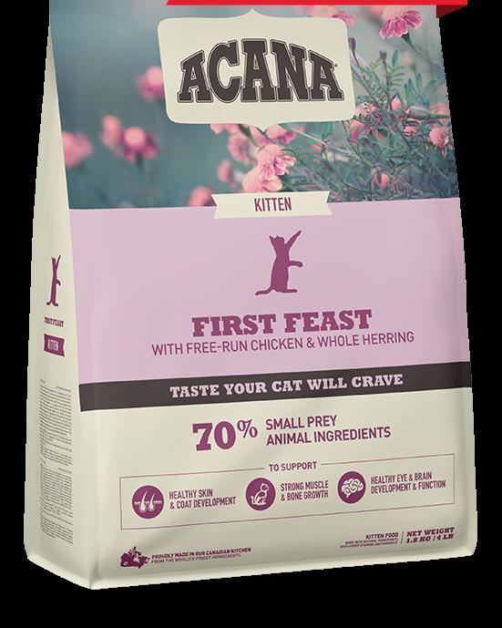 ACANA CAT - KITTEN FIRST FEAST 1.8KG