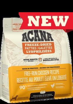 ACANA FREEZE-DRIED FOOD CHICKEN PATTIES 397g