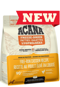 ACANA FREEZE-DRIED FOOD CHICKEN MORSELS 227g