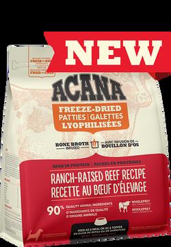 ACANA FREEZE-DRIED FOOD BEEF PATTIES 397g