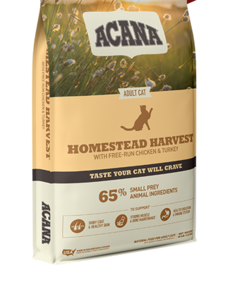 ACANA CAT HOMESTEAD HARVEST 1.8KG