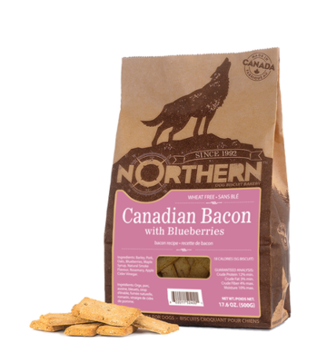 NORTHERN DOG BISCUIT - CANADIAN BACON 500g