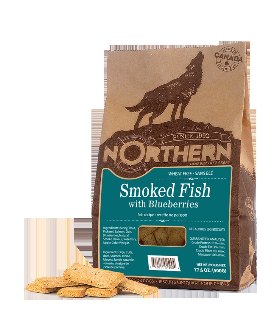 NORTHERN DOG BISCUIT - SMOKED FISH 500g