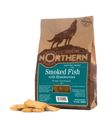 NORTHERN DOG BISCUIT - SMOKED FISH 500g