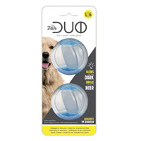 ZEUS DUO DOG TOY - BALL GLOW IN THE DARK LARGE