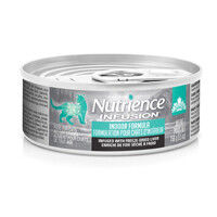NUTRIENCE INFUSION FOR CATS - INDOOR FORMULA 156g