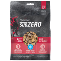 Nutrience SubZero Treats Beef Liver 90g