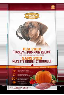 Wholesome Blend Pea Free ALS Turkey & Pumpkin 11.4kg