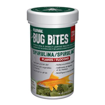 FLUVAL BUG BITES FLAKES - SPIRULINA 45g