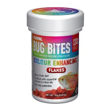 FLUVAL BUG BITES FLAKES - COLOUR ENHANCING 18g
