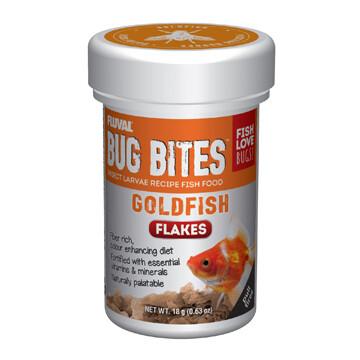 FLUVAL BUG BITES FLAKES - GOLDFISH 18g