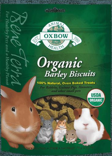 OXBOW ORGANIC REWARDS BARLEY BISCUITS 2.65oz