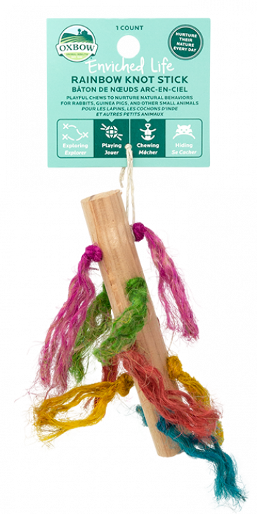 OXBOW ENRICHED LIFE - RAINBOW KNOT STICK