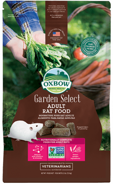 OXBOW GARDEN SELECT ADULT RAT FOOD 2.5lb