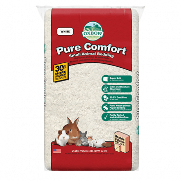 OXBOW PURE COMFORT BEDDING - WHITE 72L