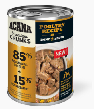 ACANA DOG CAN - POULTRY RECIPE 12.8oz