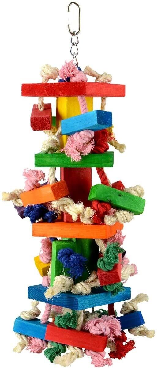 Animal Treasures Birdie Knots N Blocks