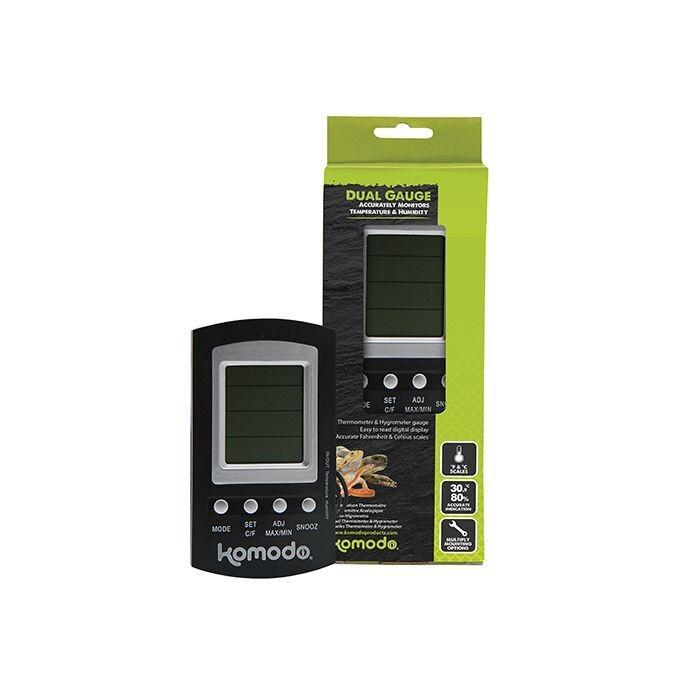 Komodo Combined Thermometer & Hygrometer