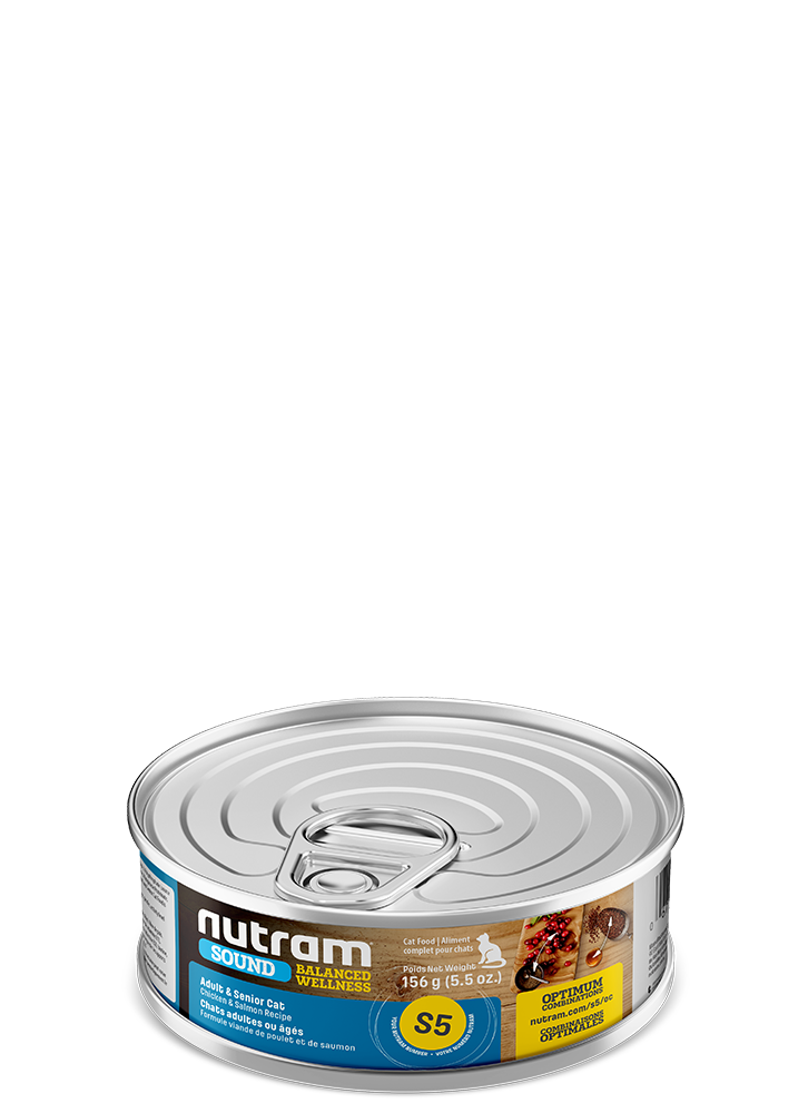NUTRAM CAT  SENIOR CHICKEN & SALMON 5.5OZ