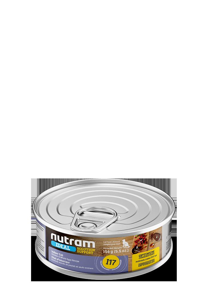 NUTRAM CAT CAN I17 INDOOR CHICKEN & EGGS 5.5OZ