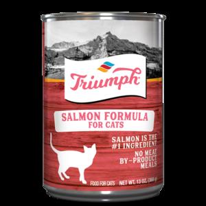 TRIUMPH SALMON CAT FOOD 13.2 OZ