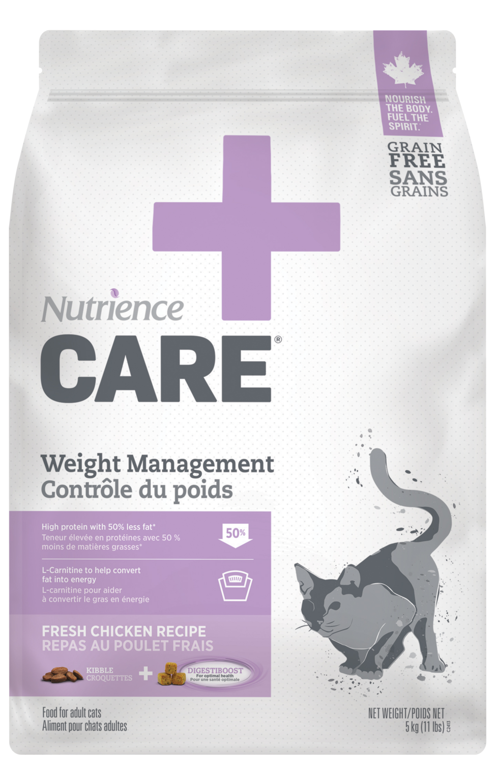 NUTRIENCE CARE WEIGHT MANAGEMENT FOR CATS 400g