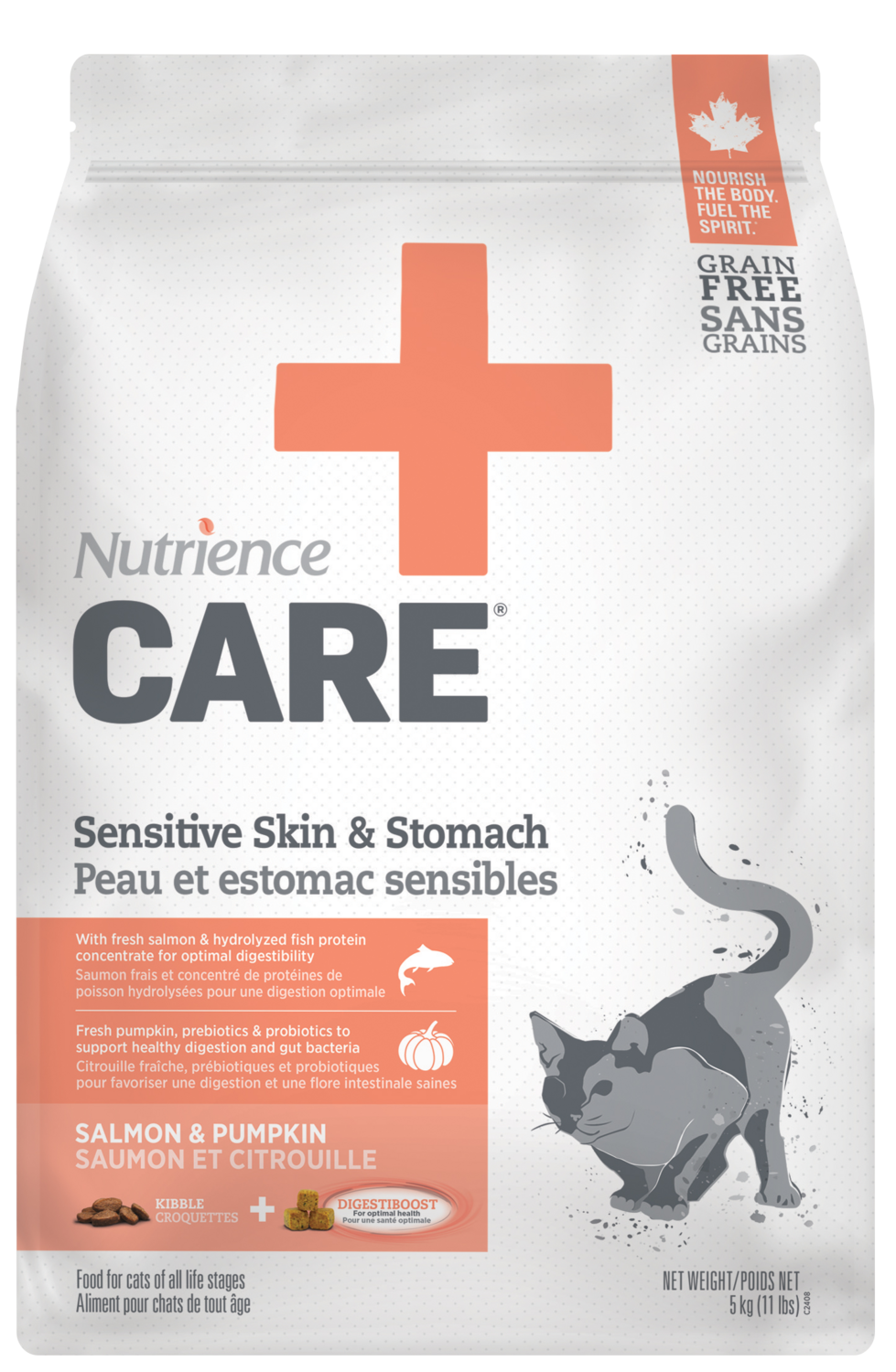 NUTRIENCE CARE SENSITIVE SKIN & STOMACH FOR CATS 400g