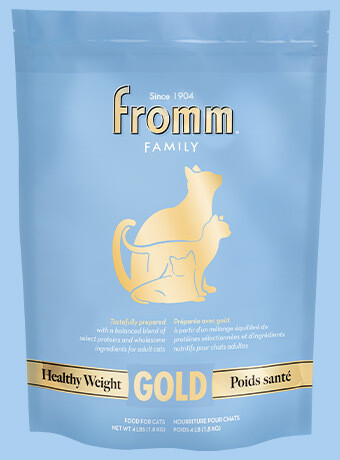 Fromm Gold Cat Healthy Weight 4lb