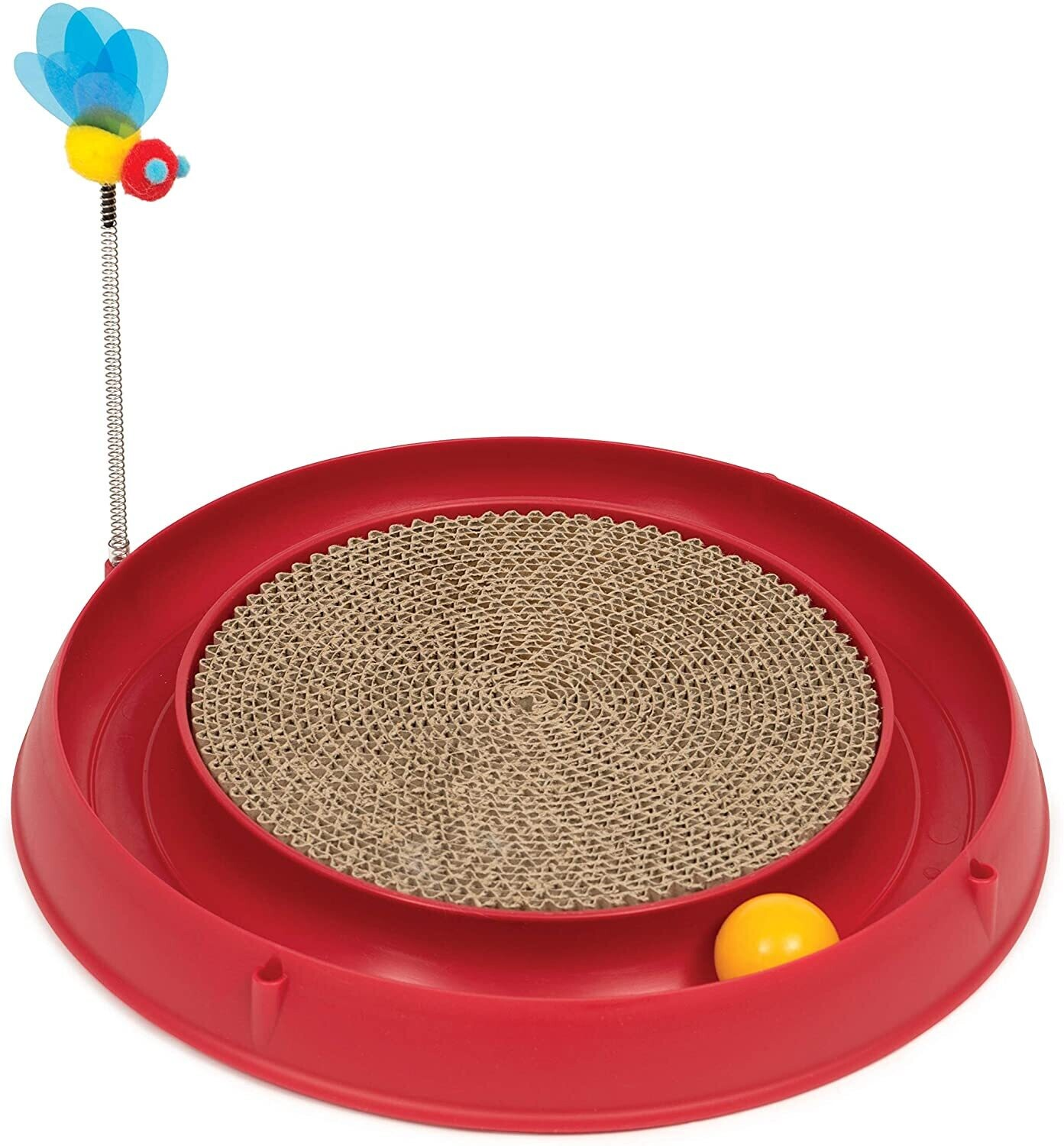 Catit Play Scratch Pad Bee and Ball