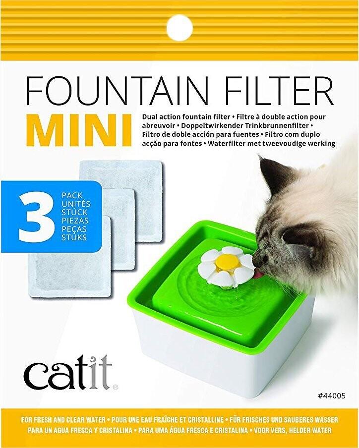 Catit Mini Fountain Filter 3 pk
