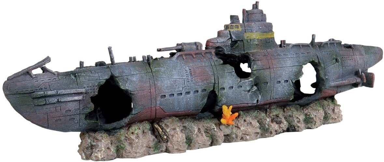 Underwater Treasures Submarine