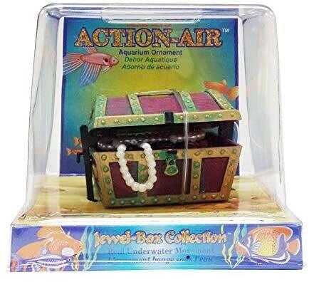 Penn Plax Action Air Treasure Chest