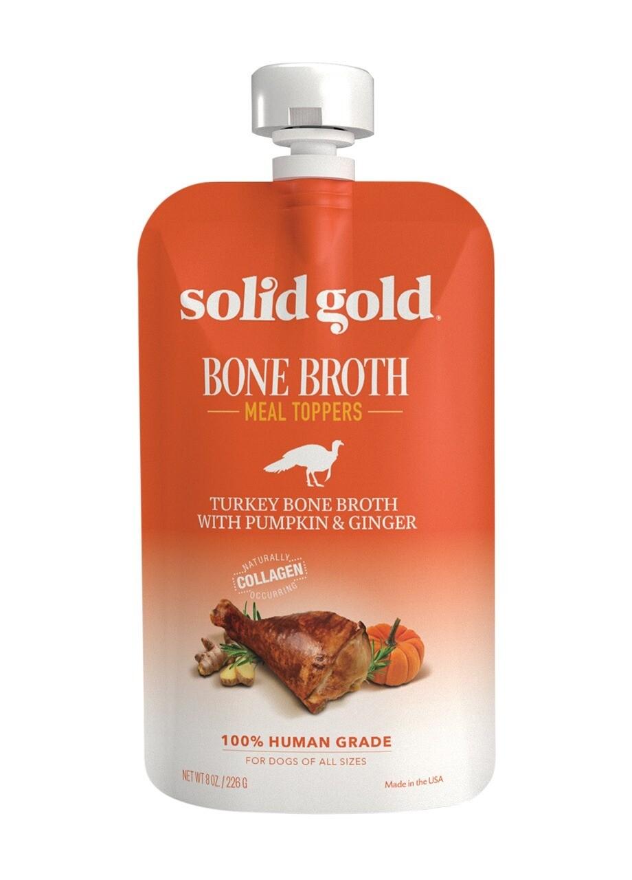 Solid Gold Bone Broth Turkey 8oz/226g