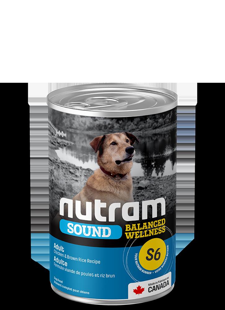 NUTRAM S6 ADULT DOG CAN 13oz