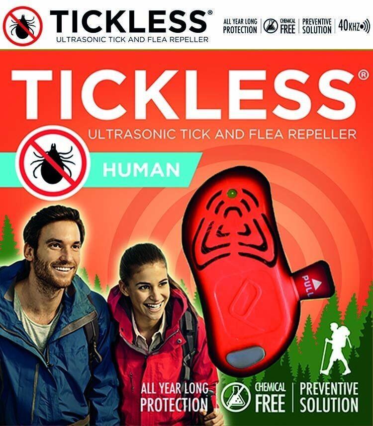 TICKLESS ULTRASONIC TICK REPELLER - HUMAN