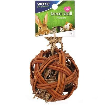 WARE TREAT BALL WITH GRASS