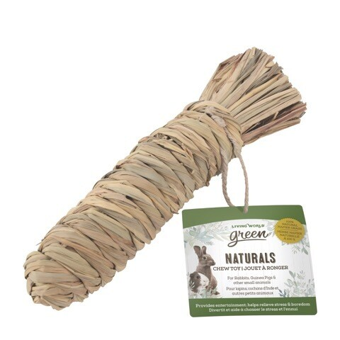 Living World Naturals Chew Toy Carrot