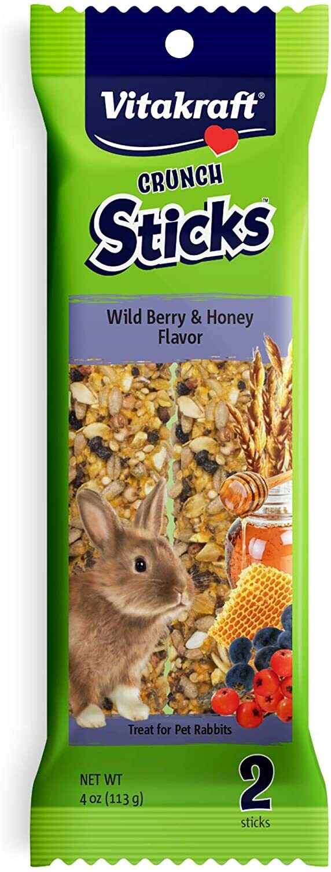Vitakraft Rabbit Sticks Wildberry 4 oz