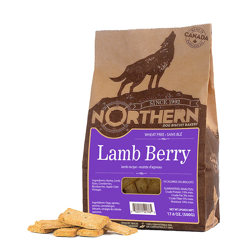 NORTHERN DOG BISCUIT - LAMB BERRY 500g
