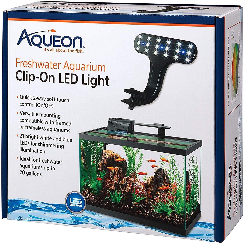 Aqueon Clip-On LED Freshwater Light