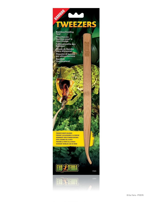 Exoterra Bamboo Tweezer Feeding Tool