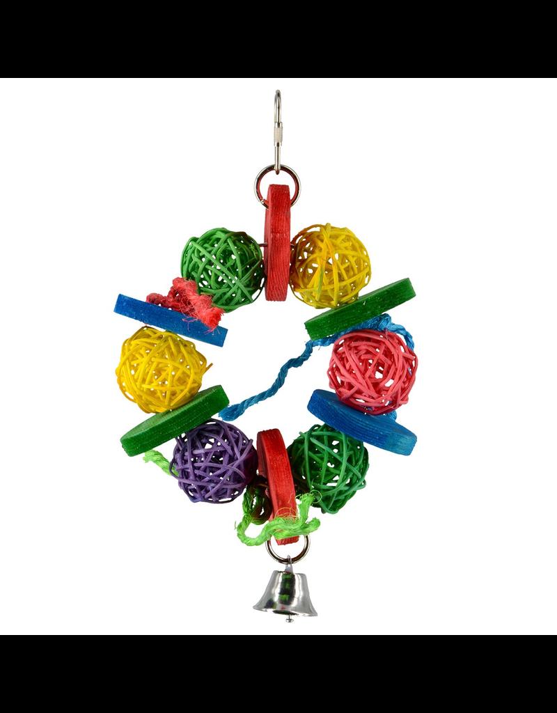 Animal Treasures Birdie Jingle Balls