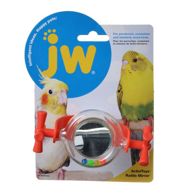 JW Bird Rattle Mirror