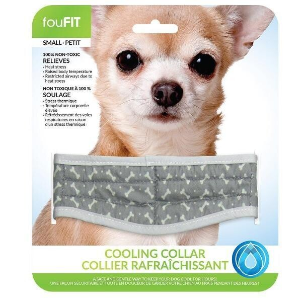 FouFit Cooling Collar S Blue
