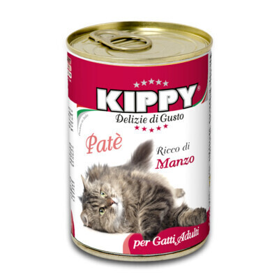 KIPPY FOR CATS PATE WITH BEEF 400g